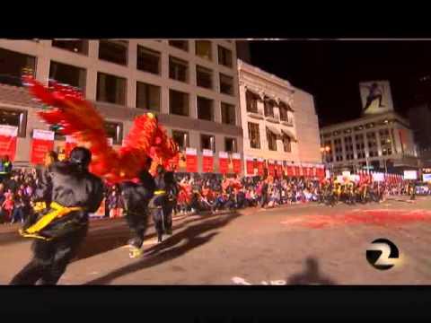 Aptos Middle School Lunar New Year Parade 2015 -- Asian Club