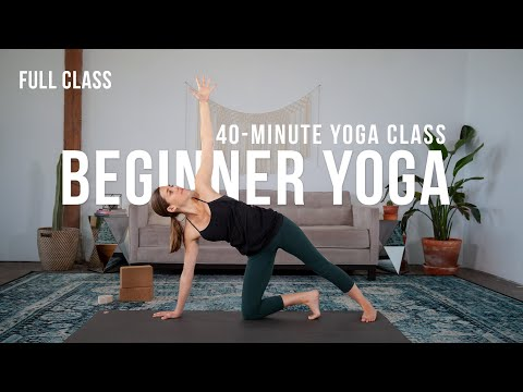 yoga class for beginners 😊 foundational concepts and yoga