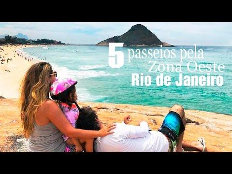 5 passeios pela zona oeste do Rio de Janeiro
