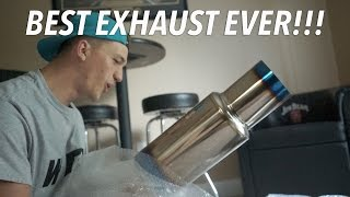 BEST EXHAUST EVER! 2015 Subaru WRX Tomei Expreme Ti Catback Exhaust Unboxing!