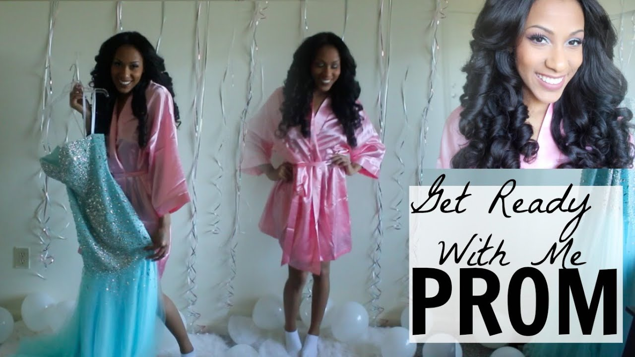 PROM 2015 | Get Ready With Me - YouTube