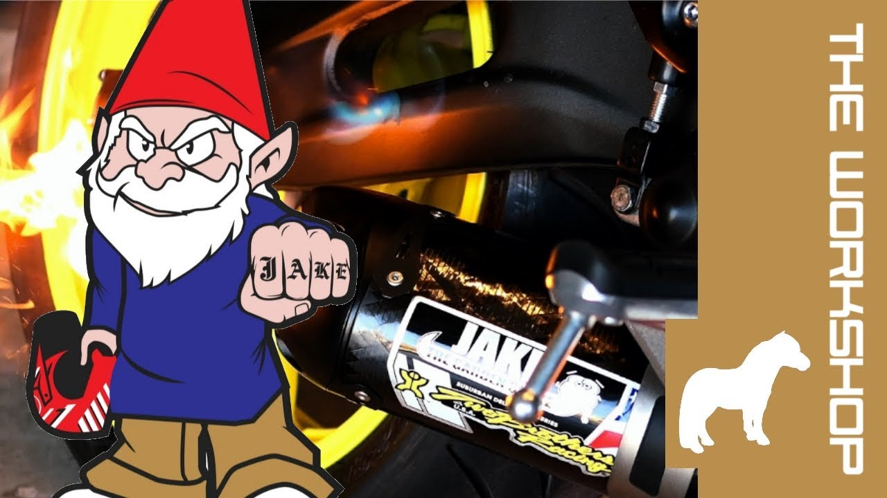 Jake The Garden Worm Exhaust Mounting Youtube