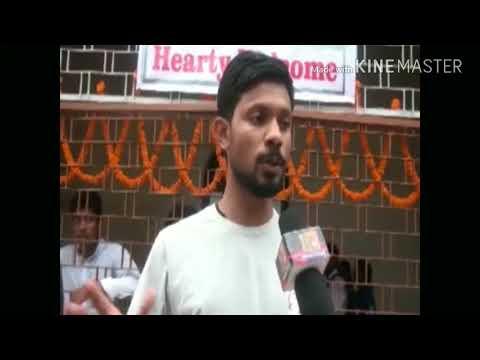 Hamirpur Parish youth day 2017, interview of sijo(NYP), Praful & shilpa