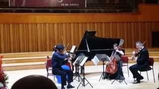 Trio Fugu (5 Apr 2015) 5a - R. Schumann - Piano Quintet in E-flat Major op. 44