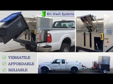 Bin Wash Systems - Low Cost Bin Cleaning Equipment