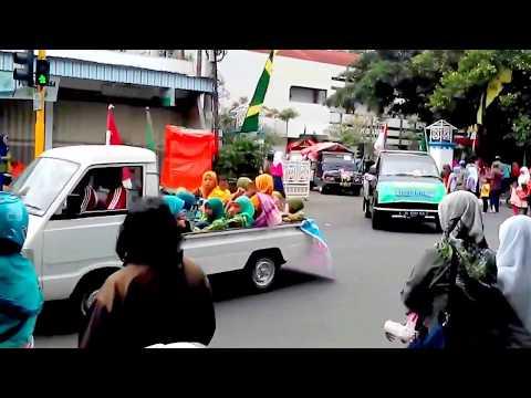 Ribuan Santri dari TPA/TPQ & Ponpes se-Tulungagung Pawai Menyemarakkan HARI SANTRI Nasional
