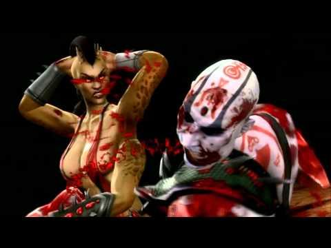 Mortal Kombat 9 Fatalities-Babalities-Xray [HD]