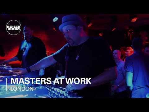 Masters At Work Boiler Room London DJ Set