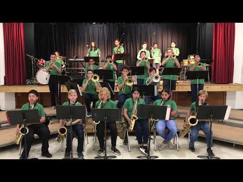 Earth, Wind, & Fire Dance Mix - Cerro Villa Middle School Jazz Band 2019