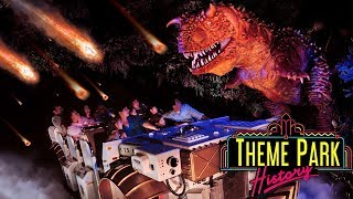 The Theme Park History of Countdown to Extinction/Dinosaur (Disney