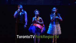 Rolia CNY show, 3 kids, 20160123