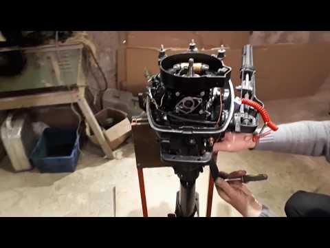 Как увеличить мощность лодочного мотора hdx 5 видео