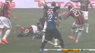 Inter-Milan 4-2 Ampia sintesi Highlights sky commento Fabio Caressa e Beppe Bergomi