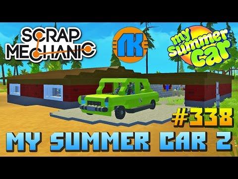 My Summer Car 2 в Scrap Mechanic \ СКАЧАТЬ СКРАП МЕХАНИК !!!