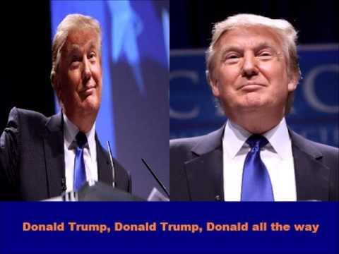 Donald Trump Holiday Song - Donald Trump (Jingle Bells - karaoke version)