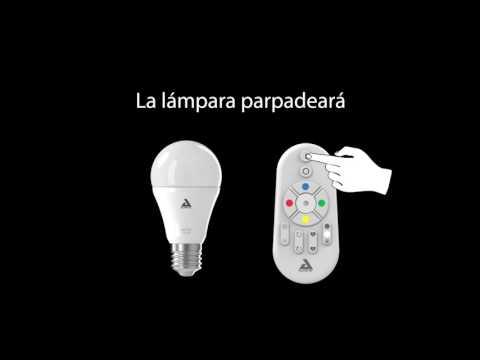 Eglo Tutorial ES 1 Conectar una lampara a un mando