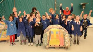 IL MOSAICO DI ANDREINA- 2014- Scuola 1 Elementare di Indicatore- Arezzo-Progetto mosaico