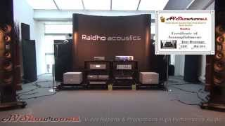 Raidho loudspeakers, D5, Michael Borresen, Show winner High End Munich