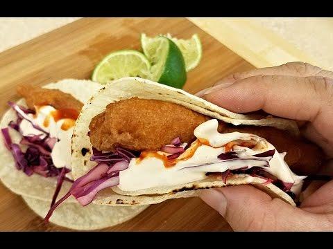 How to make Fish Tacos | Crispy Beer Battered Fish Recipe #easyrecipe