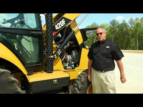 Cat® F Series Backhoe Loaders Overview (North America)