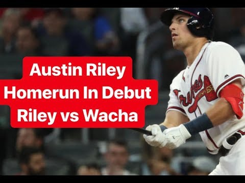 Austin Riley Goes Deep In Major League Debut [Riley vs. Wacha]