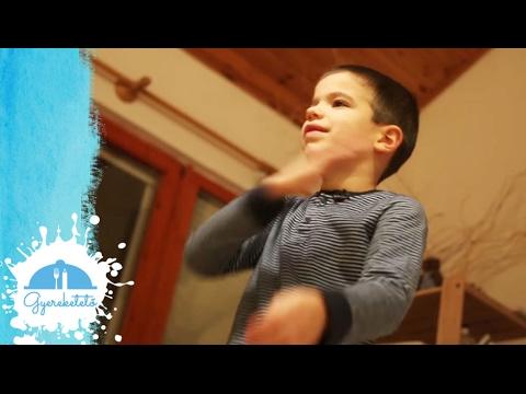 Zenés mozgásos játékok gyerekeknek