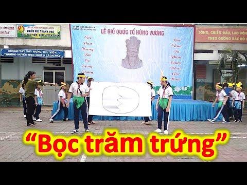 Tập Văn nghệ Giỗ tổ Hùng Vương Khối 4 | Năm 2019| Trường Tiểu học Hồng Đức Q.8 | Học sinh Việt Nam