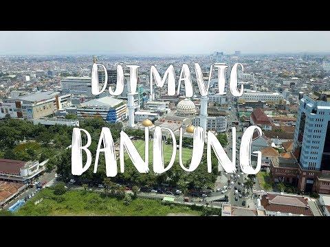 Asia Afrika - Bandung // DJI Mavic Pro \\ FREE Footage 4K