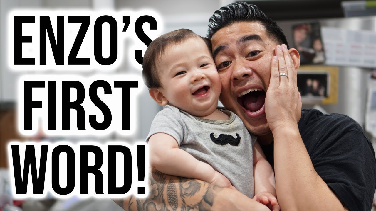 Enzo Says His First Word!!