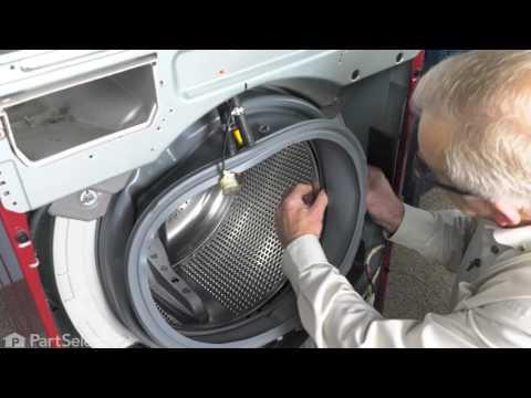 Washer Repair - Replacing the Bellow (LG Part # 4986ER0004G)