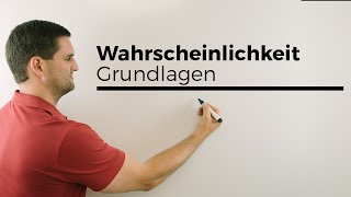Wahrscheinlichkeit, Grundlagen, Definition, Berechnungen   Mathe by Daniel Jung