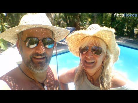 Anja und Rino auf der Finca Consell