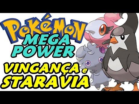 Pokémon Mega Power (Detonado - Parte 2) - Staravia e Novos Pokémons