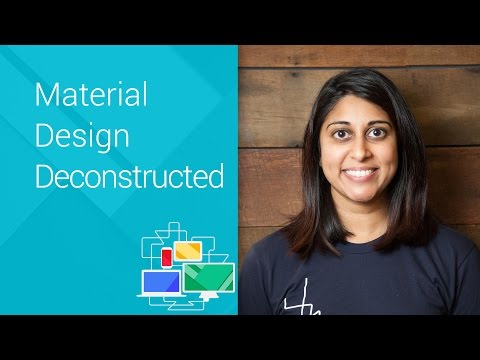 Material Design Deconstructed - Chrome Dev Summit 2014 (Roma Shah)