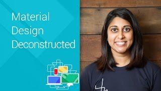 Material Design Deconstructed - Chrome Dev Summit 2014 (Roma Shah)