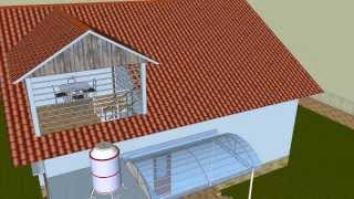Mô hình kiến trúc - Biệt Thự [3D]