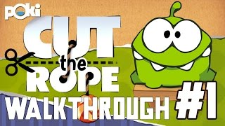 Walkthrough! Ep 1 Cut the Rope, Cardboard Box levels 1 - 25