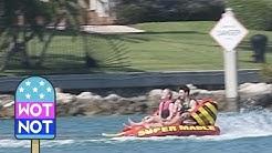 Boat Party! Sophie Turner, Priyanka Chopra, Nick Jonas & Joe Jonas Jet Ski and Tube Off Yacht