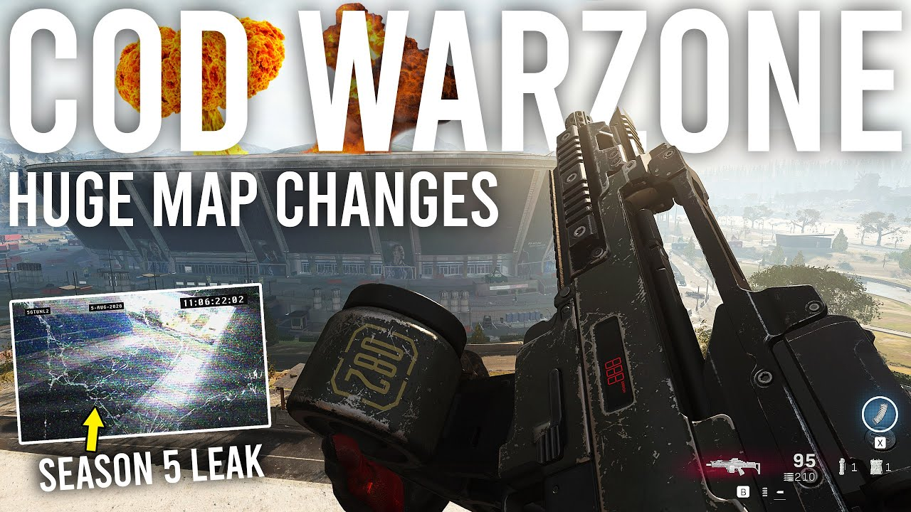 Call Of Duty Warzone Huge Map Changes I Was Sent A Season 5