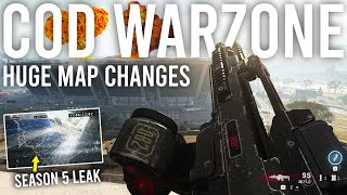 Call of Duty Warzone - Huge Map changes... I was sent a Season 5 Leak Video!