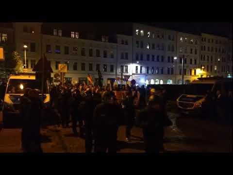Ein bunter Kurzmix zu #Legida in Leipzig am 21.09.2017