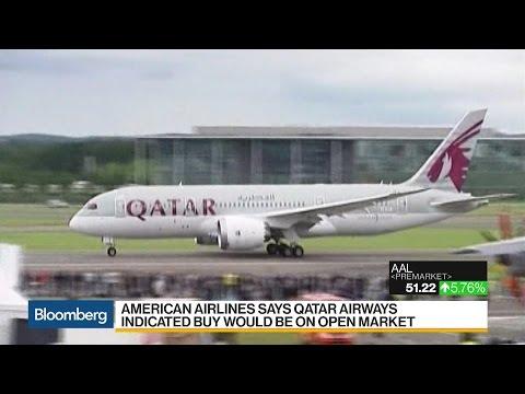 Qatar Airways Seeks 10% Stake in American Airlines