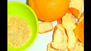 Orange peel off face pack for bright and oil-free skin Thumbnail