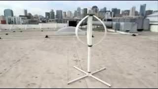 35 Watt Enerji Üretebilen Taşınabilir Rüzgar Türbini