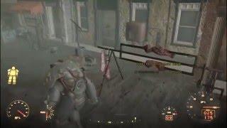 Fallout 4 Секретная комната со всеми вещами.