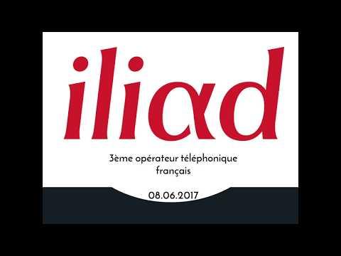 Présentation Iliad