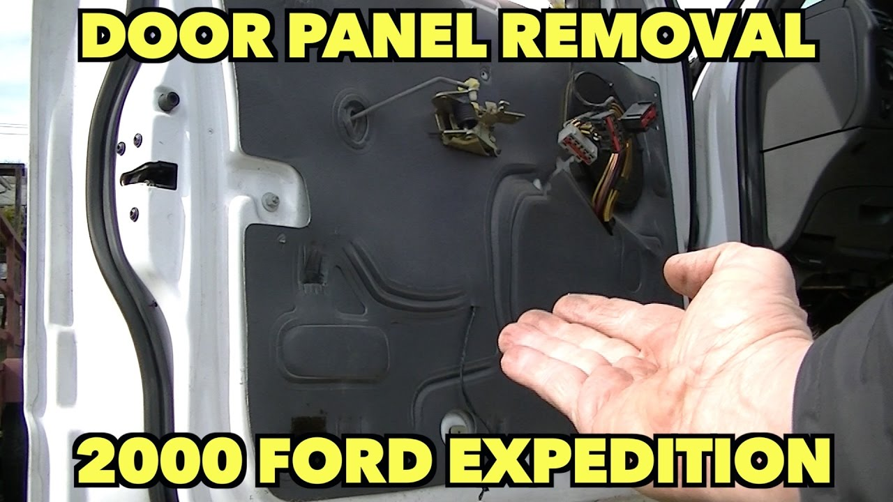 Door Panel Removal Lock Fix2000 Ford Expedition 1997 2003 Youtube Fuse Box Price Premium