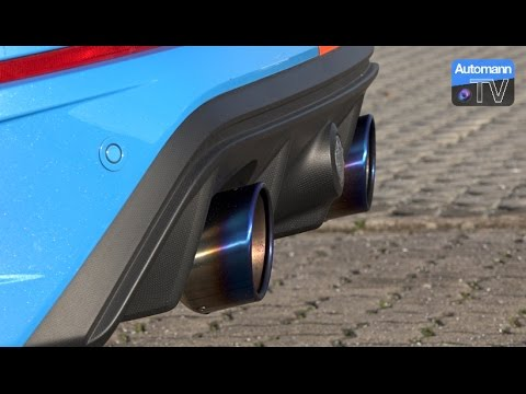 2016 ford focus rs mk3 ego x exhaust 60fps