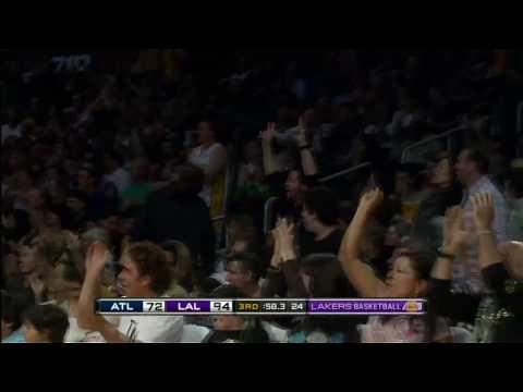 Kobe Bryant's Reverse Jam