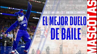 Duelo de baile en las mascotas de la NBA   NBA México